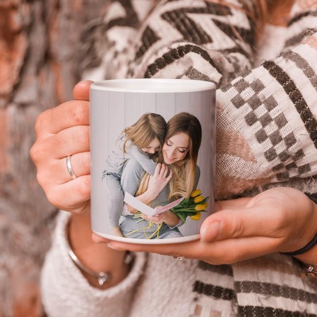 Mugg med foto mamma