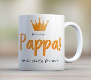 Till min pappa du är viktig för mig!