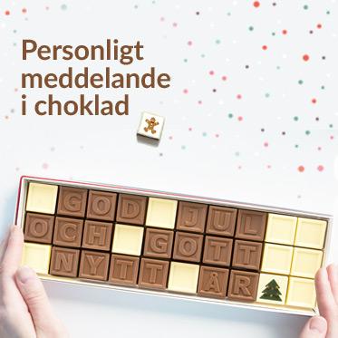 choklad meddelande